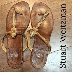 Stuart Weitzman Swarovski Crystal Sandals